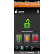 Smart phone Alarm Control