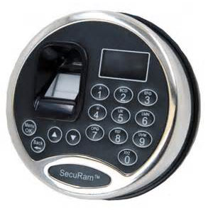 Safe Keypad W/ Audit Trail & Biometrics