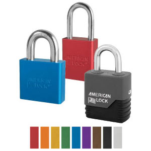 Aluminum Padlocks – Many Colors