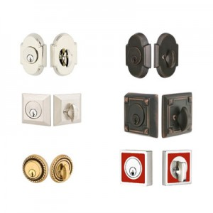 Deadbolts- Many Style & Finishes