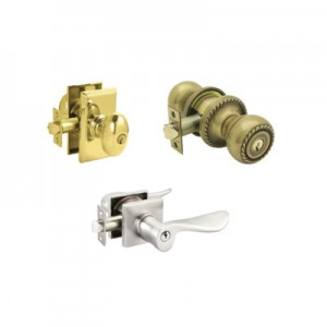 Entry Locksets - Many Finishes/Styles/Functions