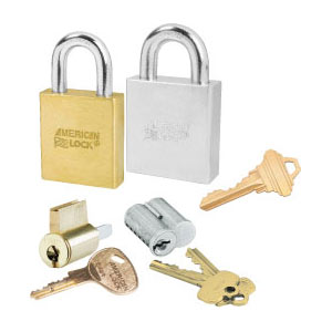 Padlocks Key able to Door Locks