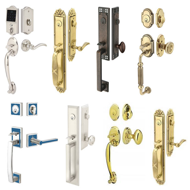 Pitcher Handle Lock Sets, Many Styles & Finishes